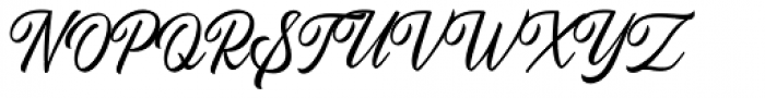 Autogate Script Regular Font UPPERCASE