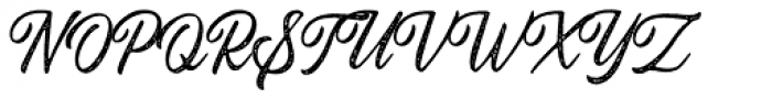 Autogate Script Stamp Font UPPERCASE