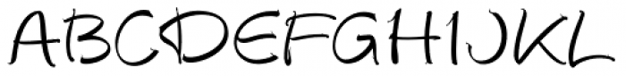 Autograph Script EF Alt Font UPPERCASE