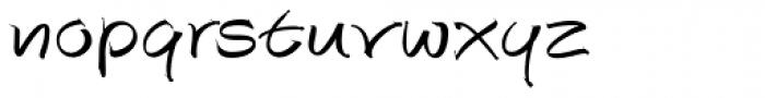 Autograph Script EF Regular Font LOWERCASE