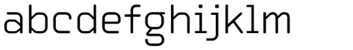 Automate Light Font LOWERCASE
