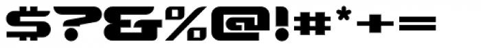 Automaton Font OTHER CHARS