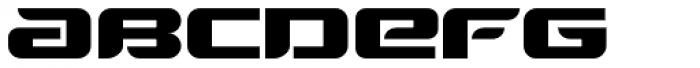 Automaton Font LOWERCASE