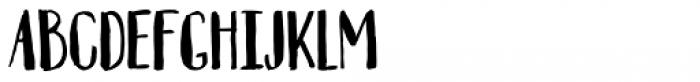 Automnious Regular Font UPPERCASE