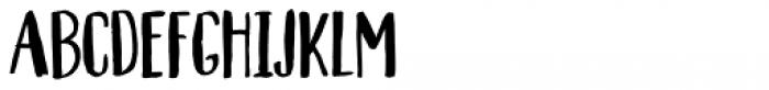 Automnious Regular Font LOWERCASE