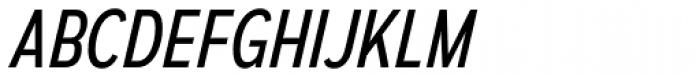 Autoradiographic Book Italic Font UPPERCASE