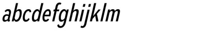 Autoradiographic Book Italic Font LOWERCASE