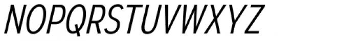 Autoradiographic Light Italic Font UPPERCASE