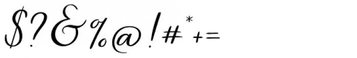 Autumn Embrace Regular Font OTHER CHARS