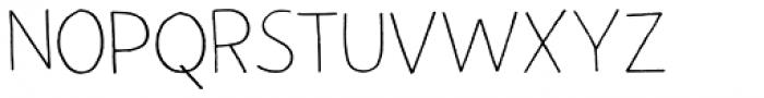 Autumn Voyage Light Regular Font UPPERCASE