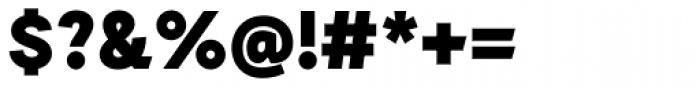 Auxilia Black Font OTHER CHARS
