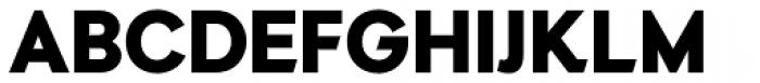 Auxilia Black Font UPPERCASE