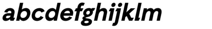Auxilia Bold Oblique Font LOWERCASE