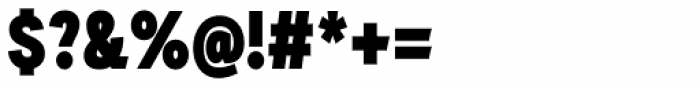 Auxilia Condensed Black Font OTHER CHARS