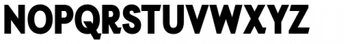 Auxilia Condensed Black Font UPPERCASE