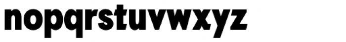 Auxilia Condensed Black Font LOWERCASE