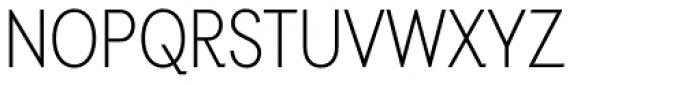 Auxilia Condensed Light Font UPPERCASE