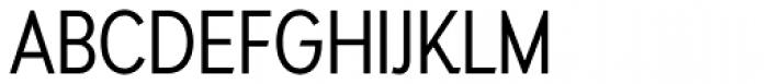 Auxilia Condensed Font UPPERCASE