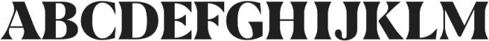 AVALANCHE - Regular otf (400) Font UPPERCASE