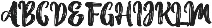 Avant Grande otf (400) Font UPPERCASE