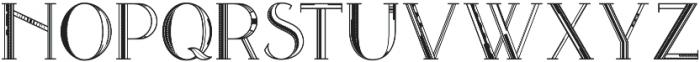 Avanth Blank otf (400) Font UPPERCASE