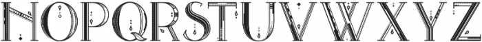 Avanth otf (400) Font UPPERCASE