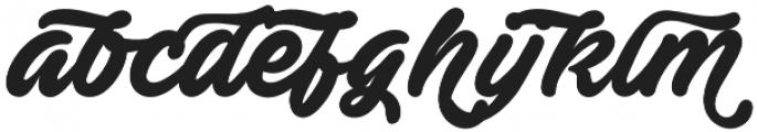 Ave Fedan Swash otf (400) Font LOWERCASE