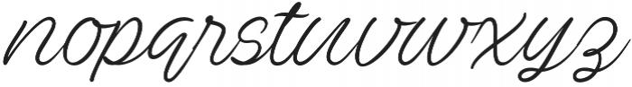 Ave Utan otf (400) Font LOWERCASE