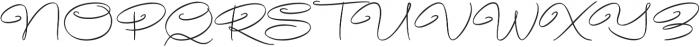 Avelana Thin otf (100) Font UPPERCASE