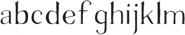 Avera  Light otf (300) Font LOWERCASE