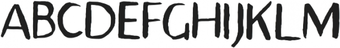 Avera Sans TC Brush otf (400) Font UPPERCASE