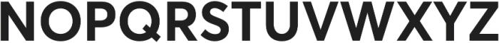 Averta CY Bold otf (700) Font UPPERCASE