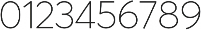 Averta CY Thin otf (100) Font OTHER CHARS