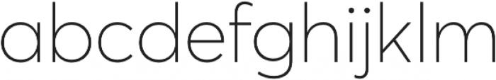 Averta CY Thin otf (100) Font LOWERCASE