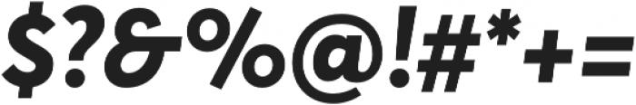 Averta ExtraBold Italic otf (700) Font OTHER CHARS