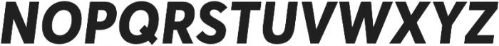 Averta ExtraBold Italic otf (700) Font UPPERCASE