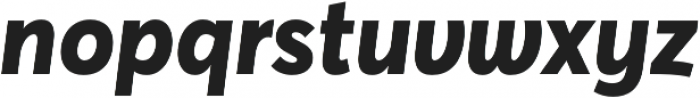 Averta ExtraBold Italic otf (700) Font LOWERCASE