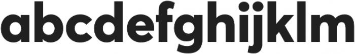 Averta ExtraBold otf (700) Font LOWERCASE