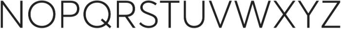 Averta Light otf (300) Font UPPERCASE