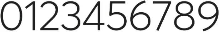 Averta PE Light otf (300) Font OTHER CHARS
