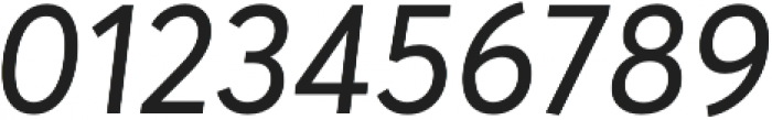 Averta Regular Italic otf (400) Font OTHER CHARS
