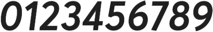 Averta Semibold Italic otf (600) Font OTHER CHARS