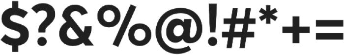 Averta Std Bold otf (700) Font OTHER CHARS