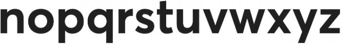 Averta Std Bold otf (700) Font LOWERCASE