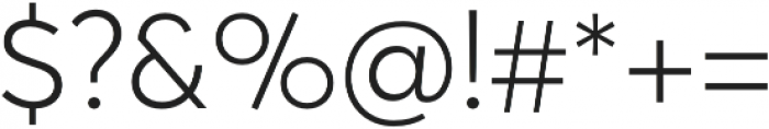 Averta Std CY Light otf (300) Font OTHER CHARS