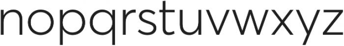 Averta Std CY Light otf (300) Font LOWERCASE