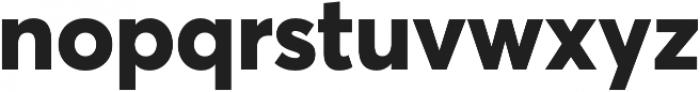 Averta Std ExtraBold otf (700) Font LOWERCASE