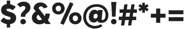 Averta Std PE Extrabold otf (700) Font OTHER CHARS