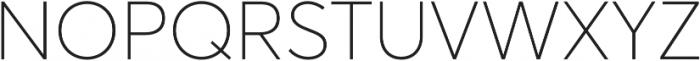 Averta Std PE Thin otf (100) Font UPPERCASE