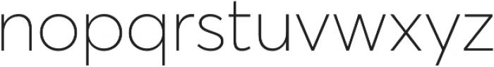 Averta Std PE Thin otf (100) Font LOWERCASE